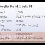 Memonitor Status Baterai Laptop Anda dengan BatteryBar Free!