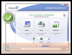 Dapatkan 8000 Lisensi Original F-Secure Internet Security 2011