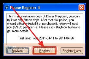 Register Driver Magician