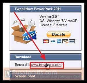 Download TweakNow PowerPack 2011