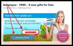 Klik Like untuk mendapatkan 5 Software Ashamppoo Senilai $104.95
