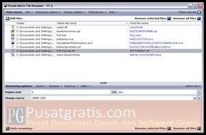 Panda Batch File Renamer: Software untuk Merename Banyak File Sekaligus dengan Mudah