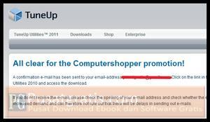 Sebuah email akan terkirim ke email anda