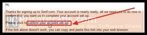 Login ke email anda dan klik link aktivasi