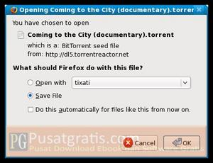 Simpan File Torrent