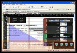 Lunascape Memiliki Tools yang lengkap untuk web developer