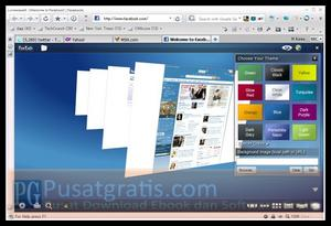 Lunascape Bisa diinstall dengan Add on Mozilla Firefox