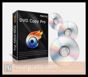 Dapatkan WinX DVD Copy Pro untuk Mengcopy dan Menggandakan DVD Secara Cepat dan Mudah