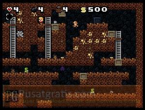 Spelunky World : Gali Harta karun anda Sebanyak-banyaknya!