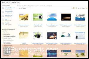 Download Ribuan Templates Microsoft PowerPoint 2010 Gratis!