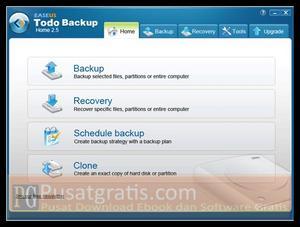 Backup dan Amankan Data Anda dengan EASEUS Todo Backup Home