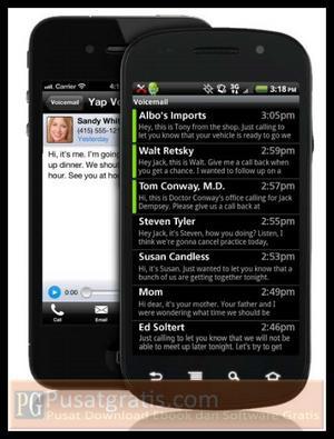 Mengubah VoiceMail Menjadi Teks Messages dengan Yap Voicemail!