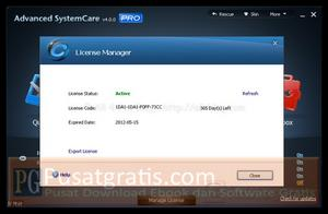 Advanced SystemCare Pro 4 Terkativasi
