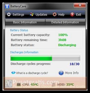 BatteryCare Sekarang Menjadi 50% Lebih Cepat!
