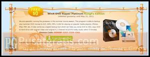Ripping DVD dengan WinX DVD Ripper Platinum Kungfu Edition