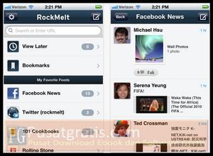 Rockmelt Kini Tersedia Untuk iPhone, iPod Touch dan iPad!