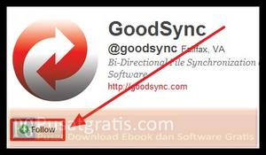 follow twitter GoodSync