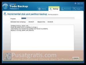 Dapatkan EASEUS Todo Backup Professional untuk Membackup dan Merecovery Komputer Anda!