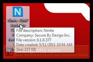 Double klik Ninite Launcher tersebut