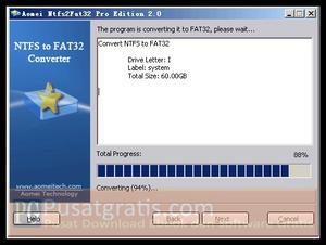 Cara Termudah Mengconvert NTFS ke FAT/FAT32 dan Sebaliknya dengan Aman