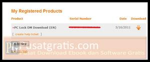 link download dan serial number PC Lock