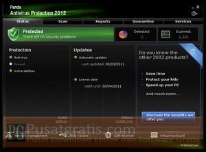 5 Langkah Mudah Mendapatkan Lisensi Panda Antivirus Pro 2012