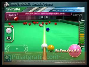 3D Pool Master XD : Game 3D Pool Menarik untuk iPhone dan iPad