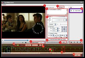 Memberi Watermark di Video Anda dengan Video Watermark Pro