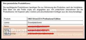 lisensi dari O&O DriveLED 4