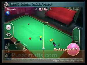 3D Pool Master XD : Game 3D Pool Menarik untuk iPhone dan iPad