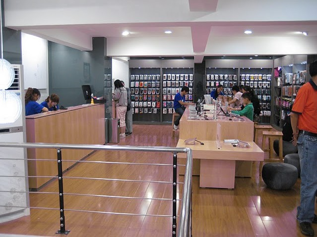 Penampilan Apple Store Palsu di Cina