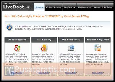 Windows Anda Tidak Bisa Booting? Dapatkan LiveBoot 2012 untuk Mengatasinya!
