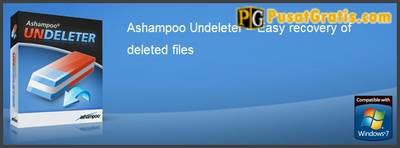 Mengembalikan data yang hilang dengan Ashampoo Undeleter