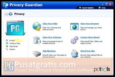 Dapatkan PC Tools Privacy Guardian untuk Melindungi Privacy Anda Saat Berinternet