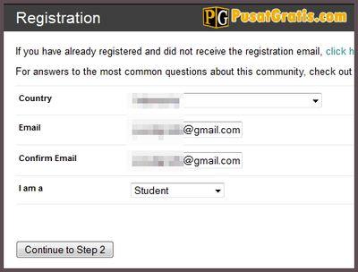 Masukkan alamat email anda