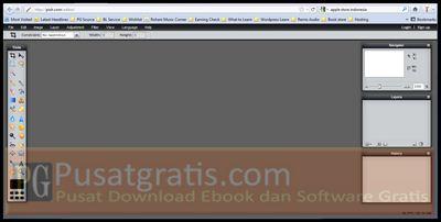 Pixlr Editor untuk Foto Editing