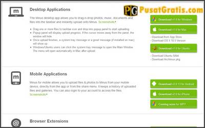 Aplikasi Minus Dalam Berbagai Platform