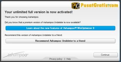 Mengembalikan data dengan Ashampoo Undeleter
