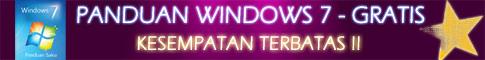 panduan windows 7 gratis