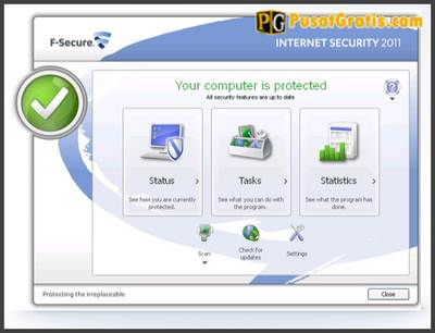 Antivirus Internet Security: Cara Mendapatkan Lisensi F-Secure Internet Security 2011 Selama 1 Tahun Penuh
