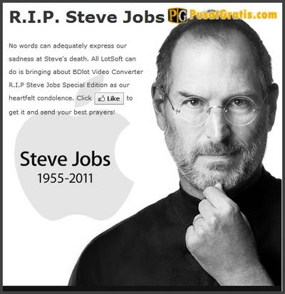 Video Converter edisi khusus RIP Steve Jobs