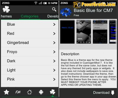 N3xGen Theme Manager aplikasi untuk theme android