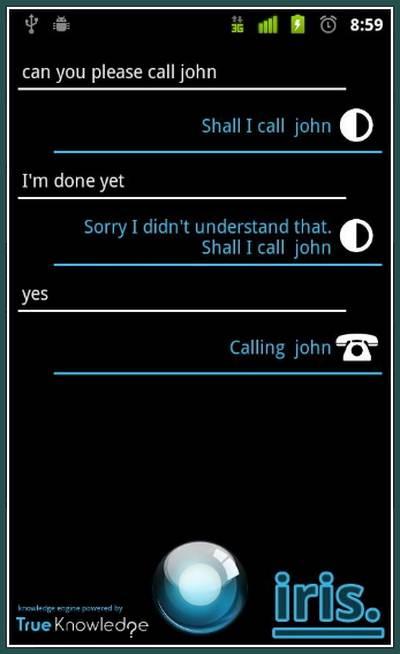 Download dan Dapatkan Iris: Siri Versi Android!