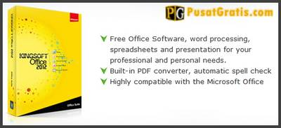 Kingsoft Office Suite Free 2012: Alternatif  Gratis Microsoft Office!