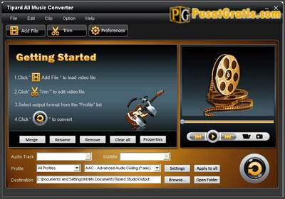 Mengconvert Musik dari Satu Format ke Format Lainnya dengan Tipard All Music Converter