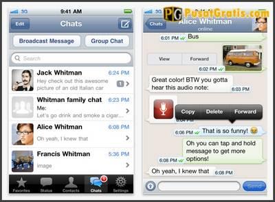 WhatsApp Messenger untuk iOS Kini Digratiskan Selamanya!