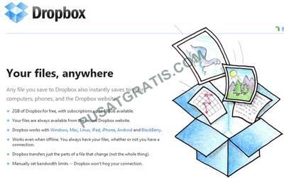 Dapatkan 2GB Online Storage dari Dropbox