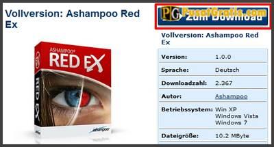 lisensi ashampoo red ex