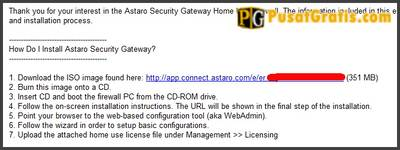 download Astaro Security Gateway Home Use Firewall