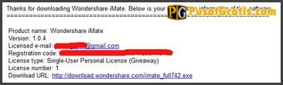 Install dan aktifkan dengan lisensi yang sudah anda dapatkan di email anda.